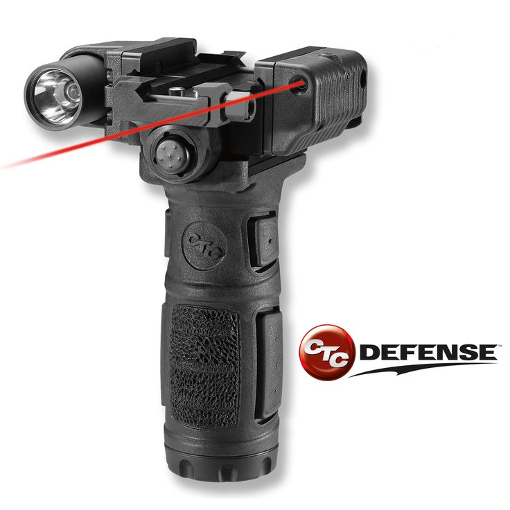 MVF-600C CTC Defense™ Modular Vertical Foregrip™ for AR-15 Rifles  http://www.crimsontrace.com/products/manufacturer/new-coming-soon-products/mvf-600c?utm_source=social_media_medium=social_media_term=tactical_laser_content=pinterest_mvf600c_campaign=Social%2BMedia