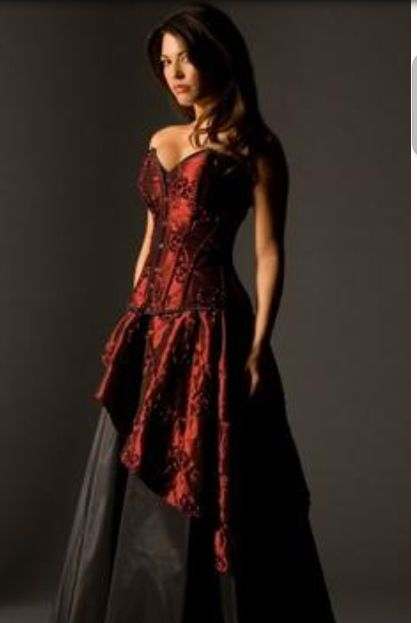 10+ ideas about Dark Red Dresses on Pinterest ...