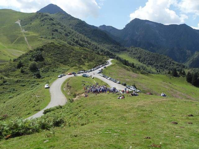 Col de Val Louron-Azet (Pyrénées) - 1580m - 7,5km à 8,3% (13,6% maxi) - Dénivelé 620m