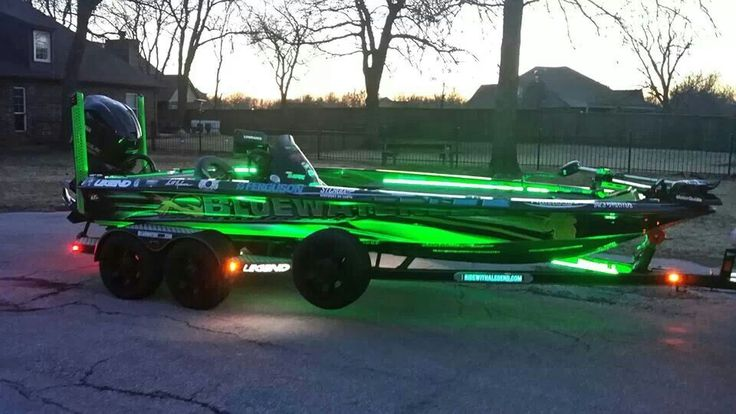That's what mine looks like at night! Lol so bright! I think this is scott ashmores boat