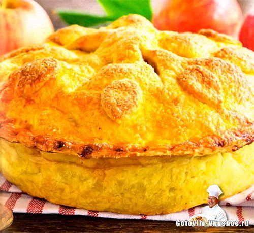 Американский яблочный пирог