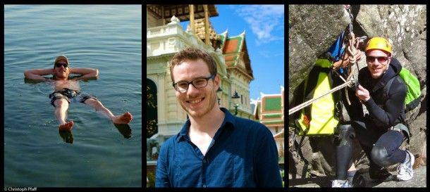 Unterwegs mit Reiseblogger Christoph Paff von unterwegs.com - Beißende Gewässer, Brennende Neugier [carathotels Blog]