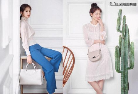 Pemotretan Terbaru Shin Min-a untuk Musim Panas