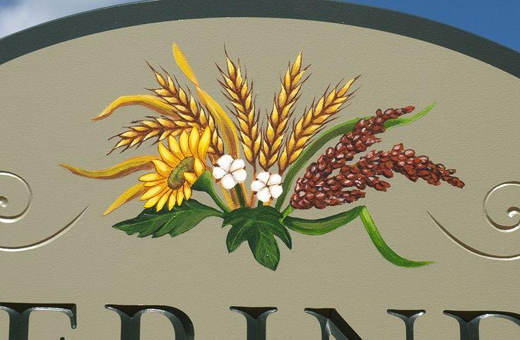 Merinda Farms Sign Detail