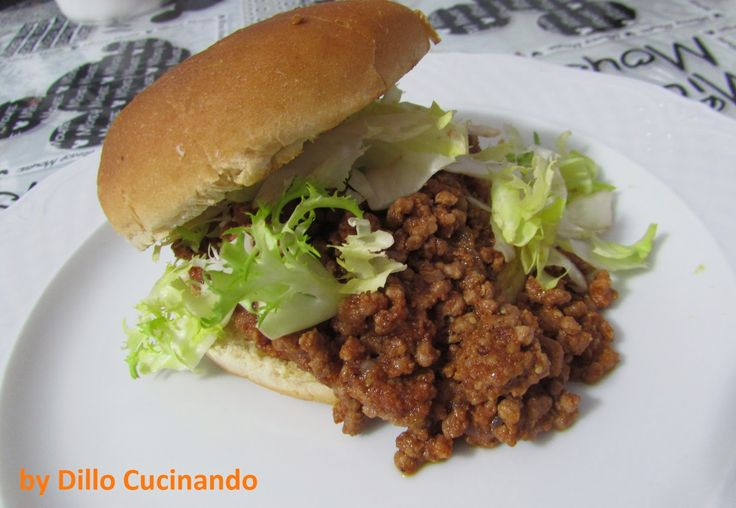 Sloppy Joe...o panino al ragu' americano