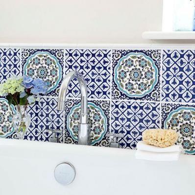 V&A Galicia & Temara Galicia Wall Tile Decor 198mm x 198mm 6 Per Pack - VA03223