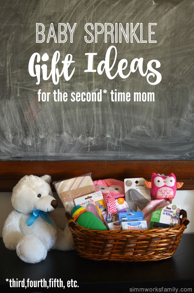 Baby Sprinkle Gift Ideas For The Second Time Mom