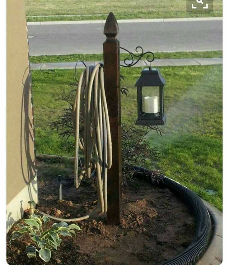 Water hose holder http://egardeningtools.com/product-category/watering/sprayers/