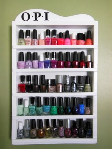 My Nail Polish Rack | LUUUX