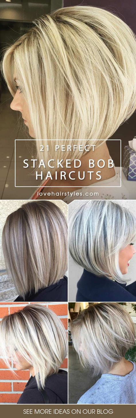 Find out fantastic stacked bob haircut ideas