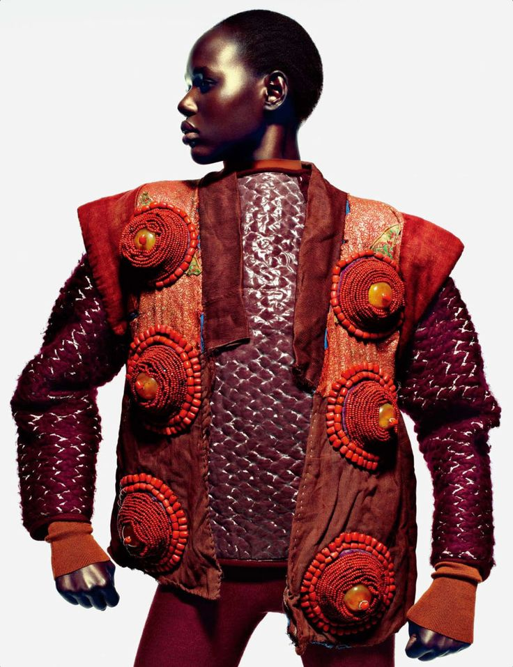BOLD looks worn by Ajak Deng