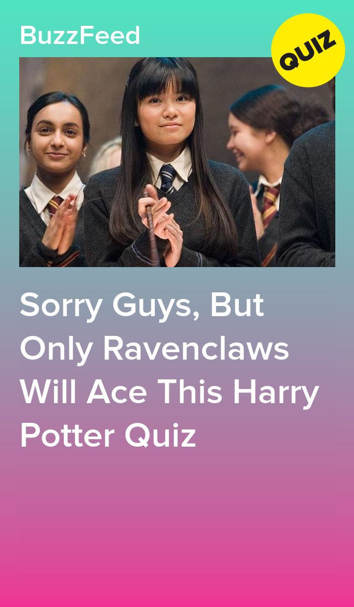 Sorry Guys, But Only Ravenclaws Will Ace This Harry Potter