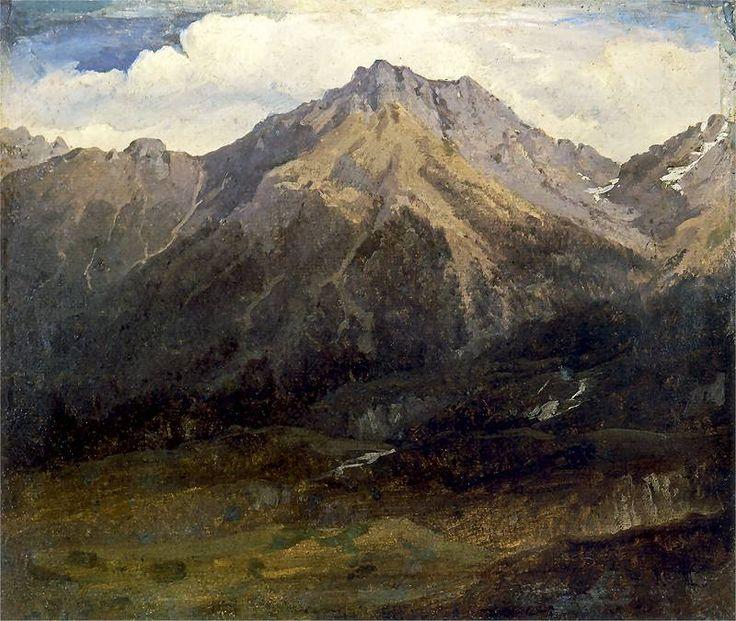 Wojciech GERSON.       Pejzaż górski   1898. Wojciech Gerson (ur. 1 lipca 1831 w Warszawie, zm. 25 lutego 1901 tamże) – polski malarz, pejzażysta, przedstawiciel realizmu, historyk sztuki, pedagog.