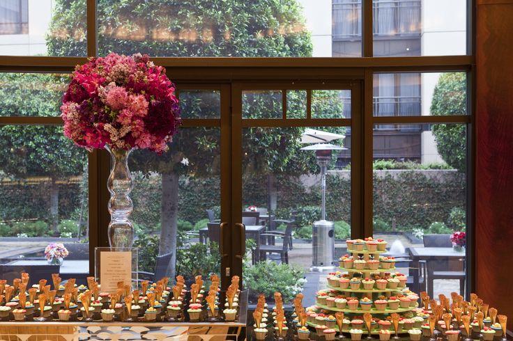 Buffet Setting in Trilogy- Park Hyatt Melbourne