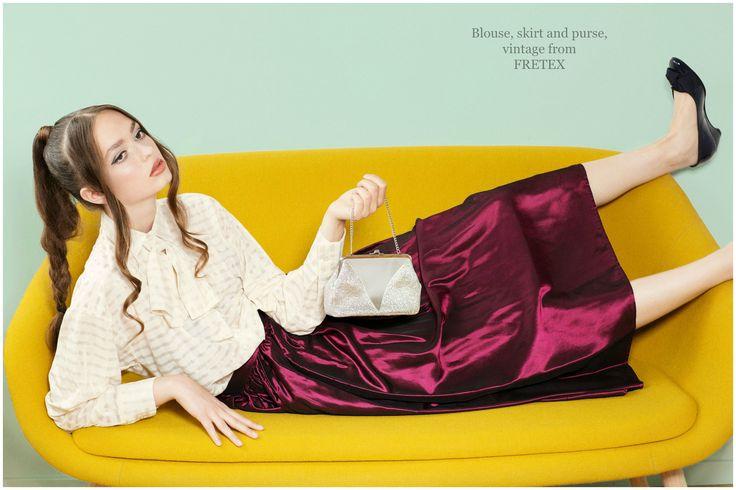 TOO MUCH 60s | Motalite  #fashion #photoshoot #magazine #style #2016