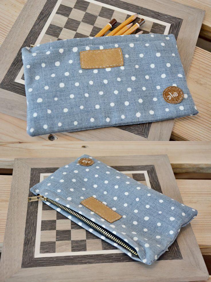 Pencil case, DIY, Sewing