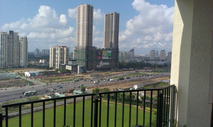 Is development in vietnam is good? Not if when half these buildings are empty.