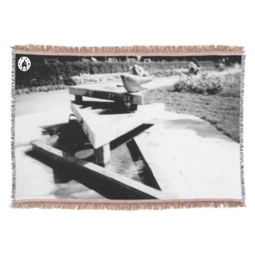 The Fountain Throw Blanket - $85.00 Made by Zazzle Home/ Design: Fluxionist