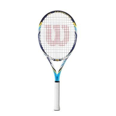 Wilson Juice Pro tennis racket.  MORE POWER