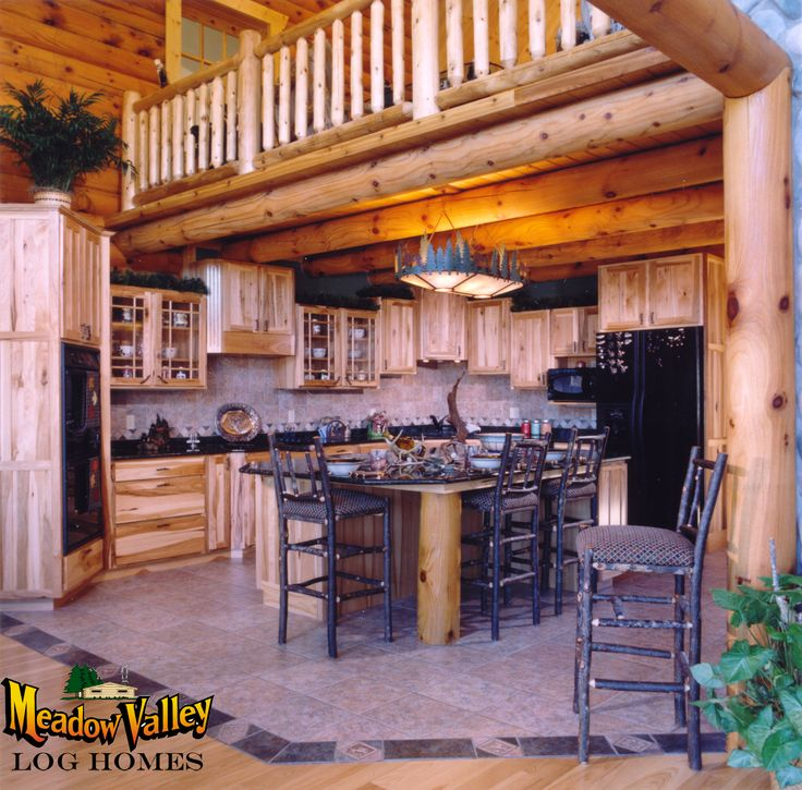 38 Best Meadow Valley Log Homes Interiors Images On