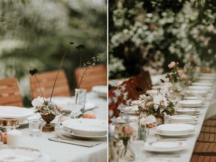 wedding table / boho wedding