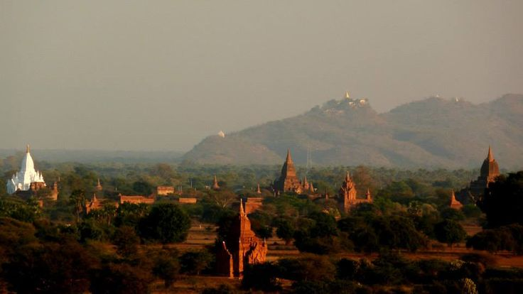 #Postcard from Bagan and its 3200 temples. What an amazing view!
