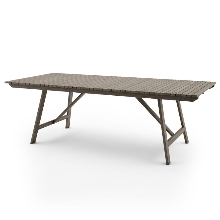 ikea sundero table 220x100 grey outside pinterest