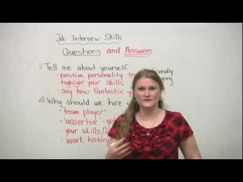 12 best images about Learn English Videos – Personal Trainer Interview Questions
