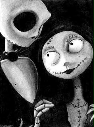 El extraño mundo de Jack  Jack y Sally