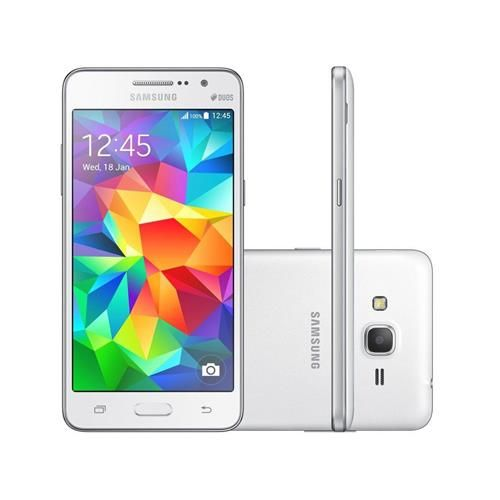 Ponto Frio Rápidoo! Smartphone Samsung Galaxy Grand Prime 8 GB Branco >> R$ 649,00