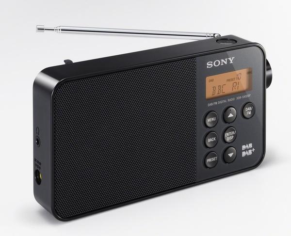 Sony XDR-S40DBP Digital Radio black