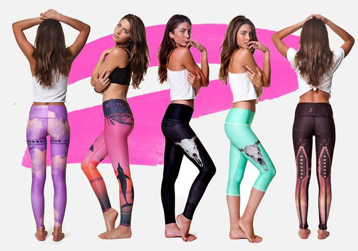 love Teeki Hot Pants! Their printed leggings are the best for hot yoga and beyond! http://evolvefitwear.com