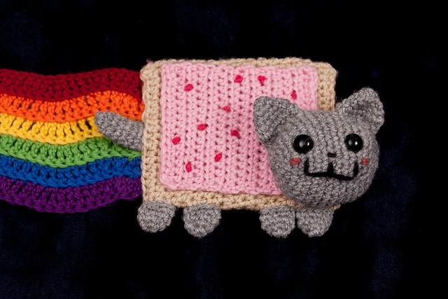 Nyan Cat Scarf by xElle, via Flickr My Style Pinterest ...