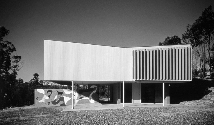 Brian and Donna Seidler House (formerly Marcus Seidler House), Harry Seidler, c1951.