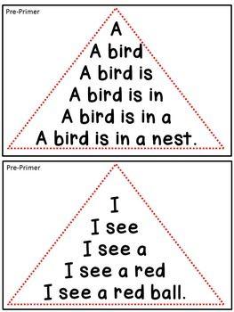 Reading Fluency - Fluency Triangles for... by Kinesthetic Classroom   Teachers Pay Teachers $3