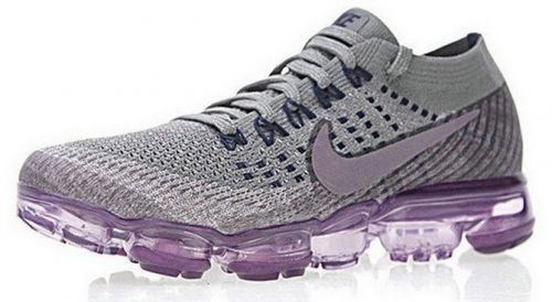 new concept 191ba 64bc6 Nike Air VaporMax Flyknit COLLEGE NAVY TAUPE GREY-TEA BERRY 899472 400