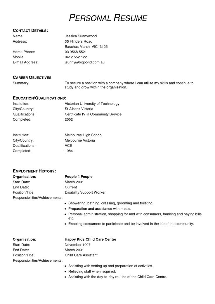 health-care-assistant-cv-with-no-experience.png (945×1337)