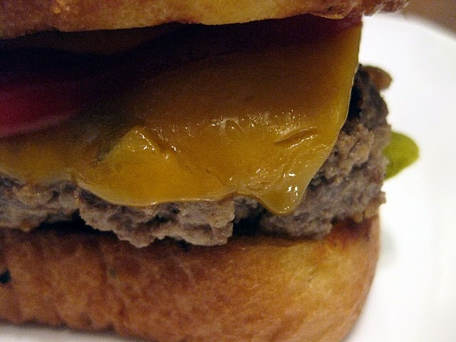 grilled sour cream and onion burgers | food. burgers. | Pinterest