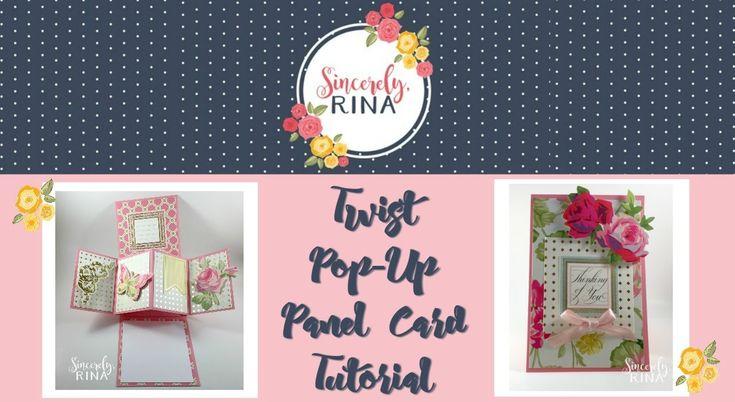 Twist Pop Up Panel Card Tutorial
