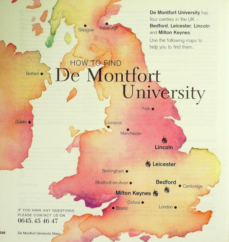 ผลการค้นหารูปภาพสำหรับ de montfort university map