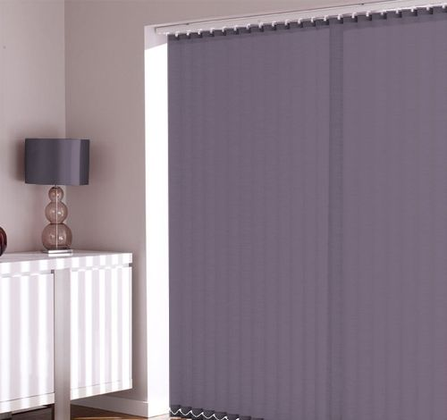 Cheapest Blinds UK | Dusky Purple Vertical Blinds