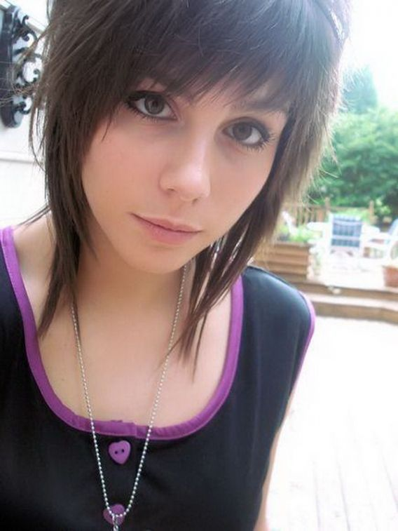 Short Emo Hair Cut Hair Cut Ideas Pinterest
