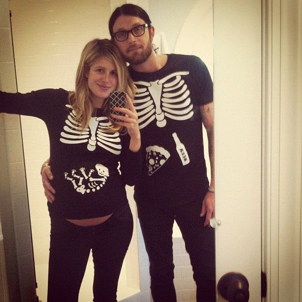 Halloween 2012. Adorable. Pregnant Costumes For CouplesHalloween ...  sc 1 st  Pinterest : pregnant couples halloween costumes  - Germanpascual.Com