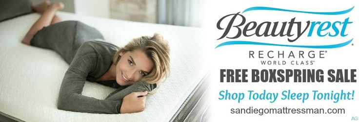 FREE BOXSPRING SALE As San Diego's Largest Independant Mattress Dealer, we are committed to two things: Your Comfort and Value. We carry the same discounted mattress brand name beds like Sealy Posturepedic, Beautyrest, Simmons Beauty Sleep, Stearns & Foster, Simmons Memory Foam Plus, Simmons World Class, Sealy Hybrid, Serta iComfort and the elite Simmons Black Collection.