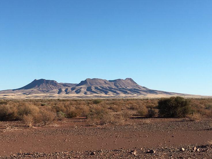Brukkaros extinct volcano, Namibia