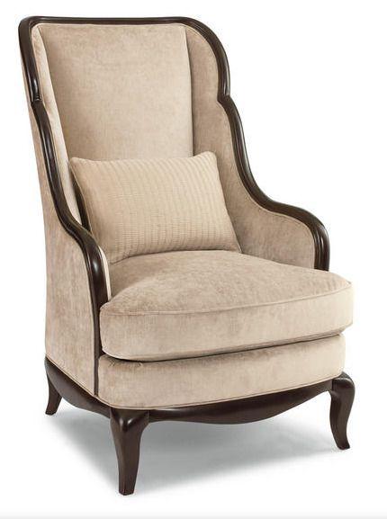 Изящное и уютное кресло с высокой спинкой в деревянной раме из коллекции St. James Place. Отделка - соболь. Высота сиденья: 50 см. Высота подлокотника: 63 см. Ширина сиденья: 58 см. Глубина сидения: 61 см.             Метки: Кресла для дома, Кресла с высокой спинкой, Кресла с деревянными подлокотниками, Кресло для отдыха.              Материал: Ткань, Дерево.              Бренд: Schnadig.              Стили: Классика и неоклассика, Лофт.              Цвета: Бежевый.