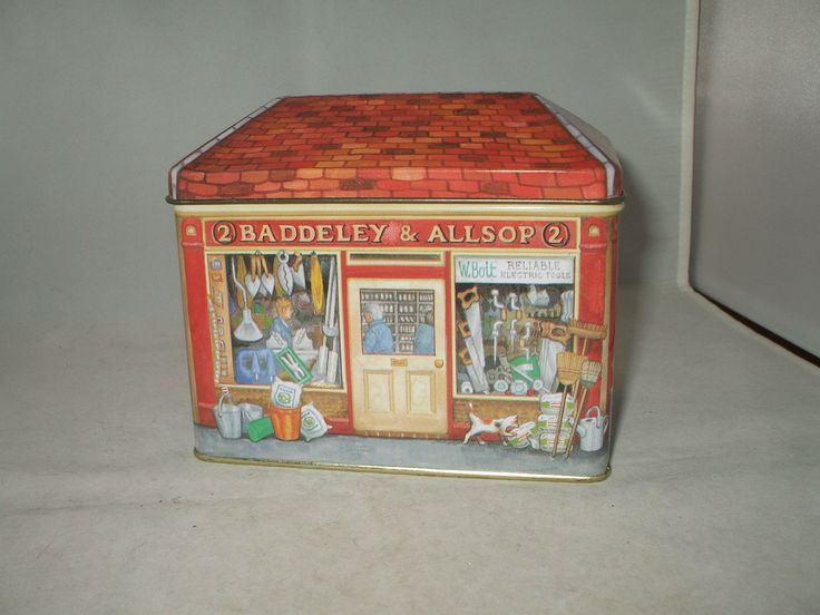 Elite Gift Boxes Ironmonger House Shaped Shop Tin by Gale Pitt & 382 best vintage tin box | village house images on Pinterest ... Aboutintivar.Com