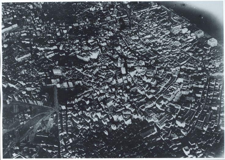 Hava Fotoğrafı: Galata, Şişhane, Tophane bölgesi / 1918 yılı