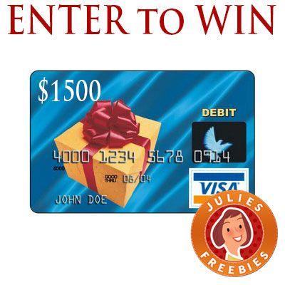 Enter to Win a $1500 Visa Gift Card | Gift card balance ...