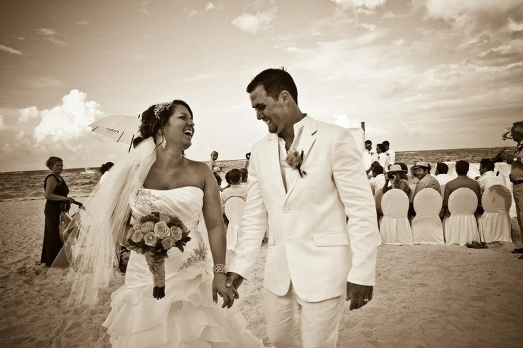 Congratulations to Mandy and Mike married at Now Larimar Punta Cana!